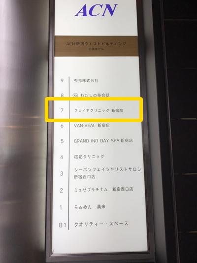 フレイアクリニックACN新宿ウエストビルディン
