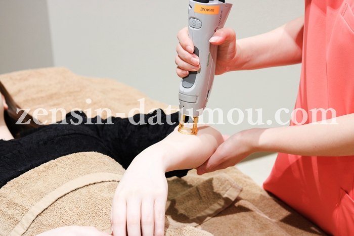 ミセルクリニックの打ち漏れ、肌トラブル無料